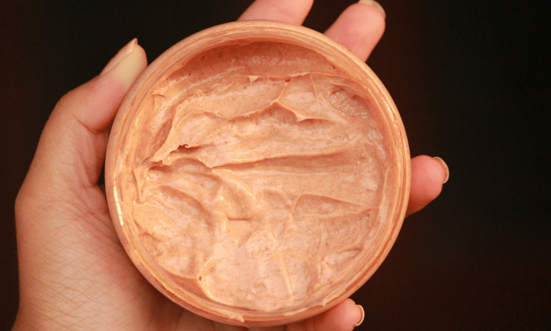 Rawkyn Red Clay Hair Mask Consistency