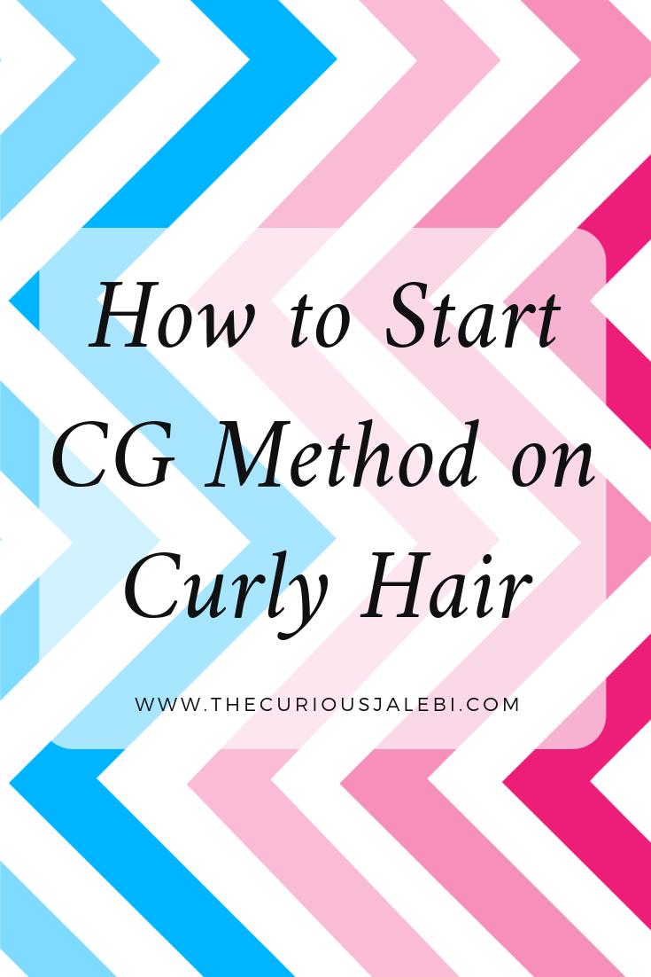 Cg method curly hair pinterest