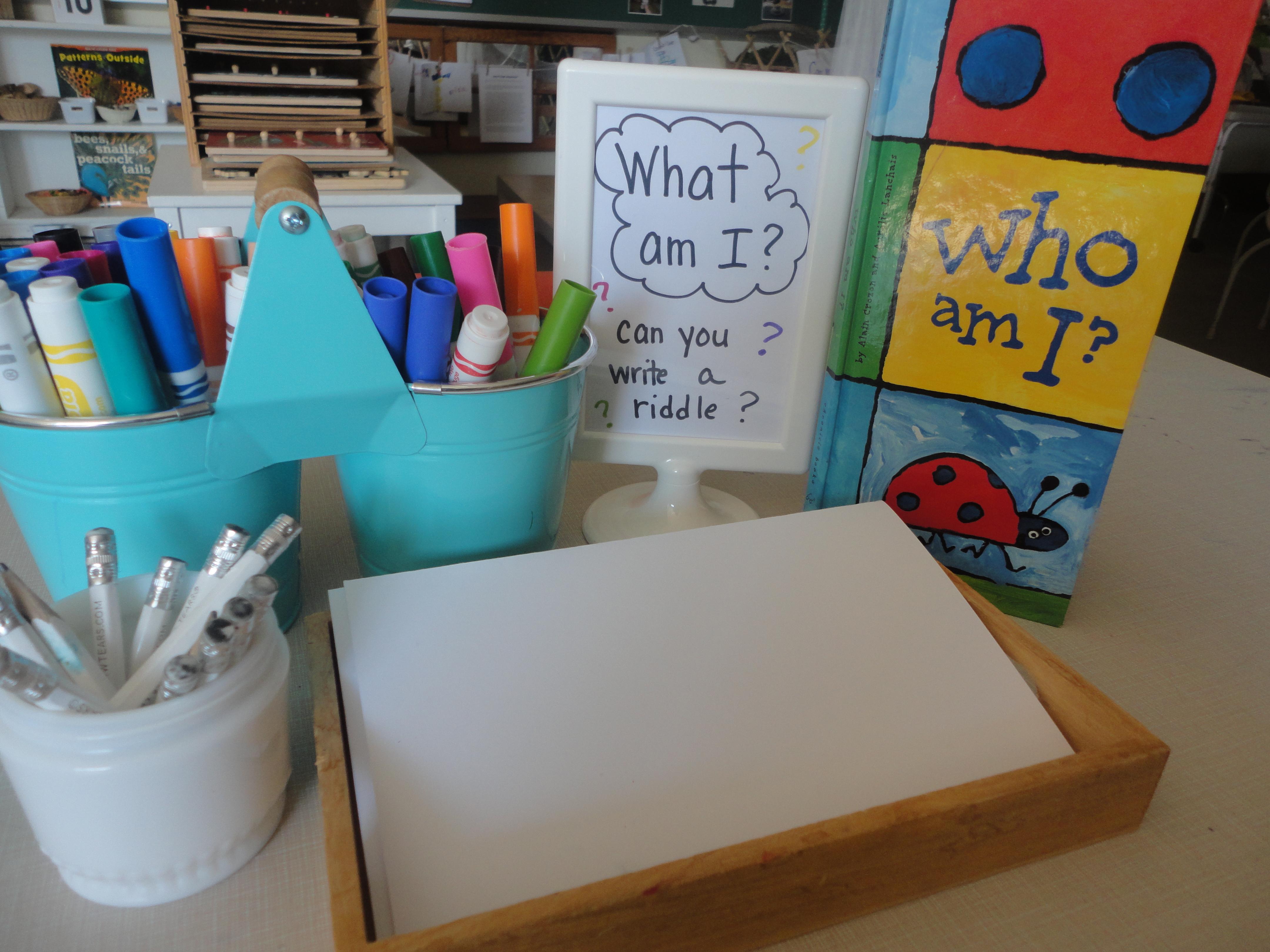 Riddles In Kindergarten