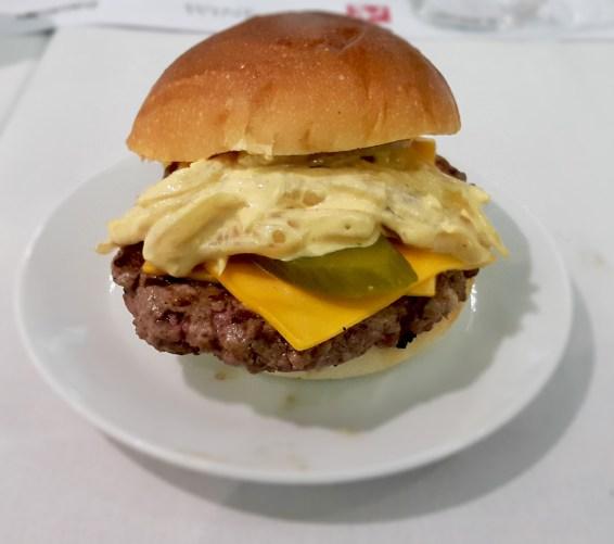 Beef Burger, Beatbox Kitchen, Melbourne, Raph Rashid