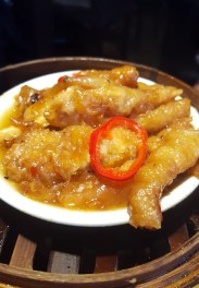 Steamed Chicken Feet with Chilli, One Dimsum, Hong Kong