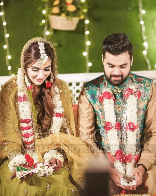 IN PICTURES: Rabab Hashim glows in green on her mehndi - The Current