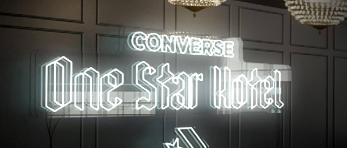 dd4b72ae7e5694 Converse pushes hype beast culture with London hotel activation ...