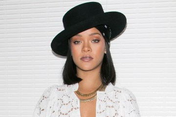 Rihanna at LVMH Young Designer Prize in 2017