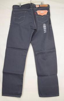 Levi-501-jeans-NWT-men-38-x-32-gray-shrink-to-fit-buttonfly-classic-cotton-W40-