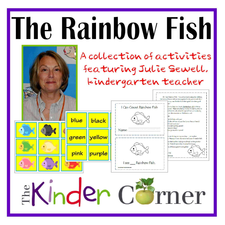 Julie Sewell Uses Rainbow Fish In Her Kindergarten Classroom