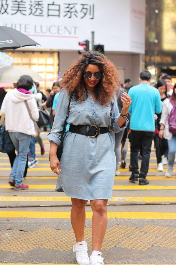 Fab and Luxury Curves Denim dress