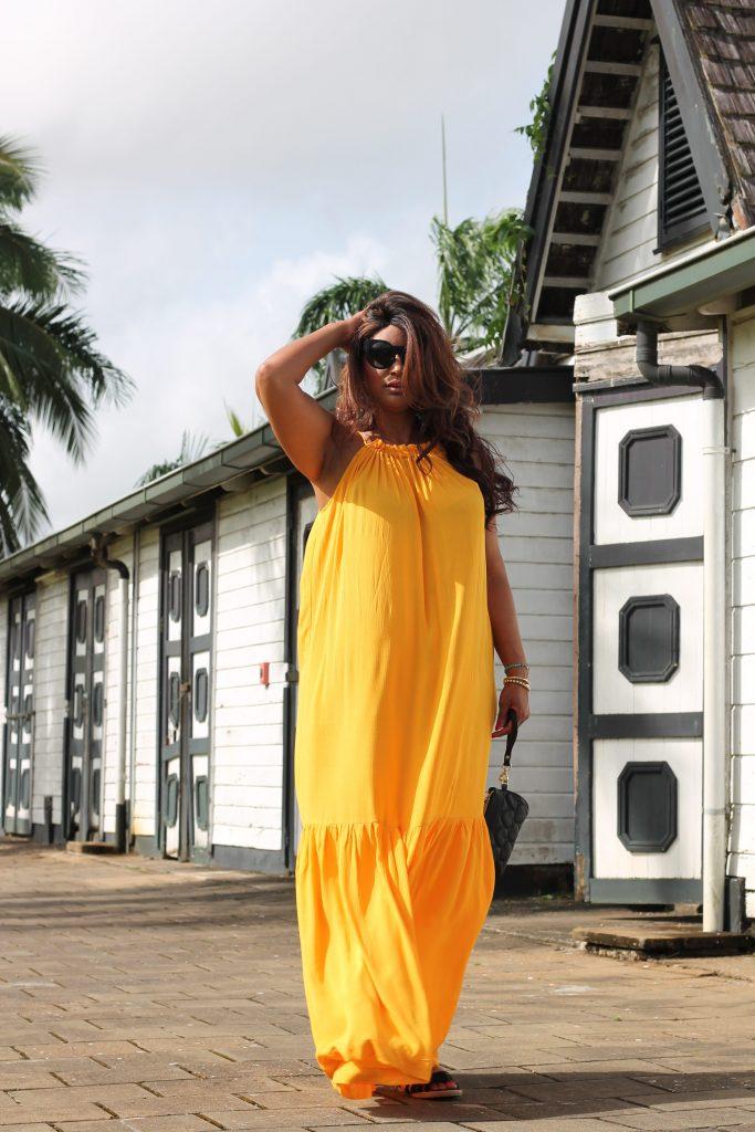Mango Violeta maxi dress