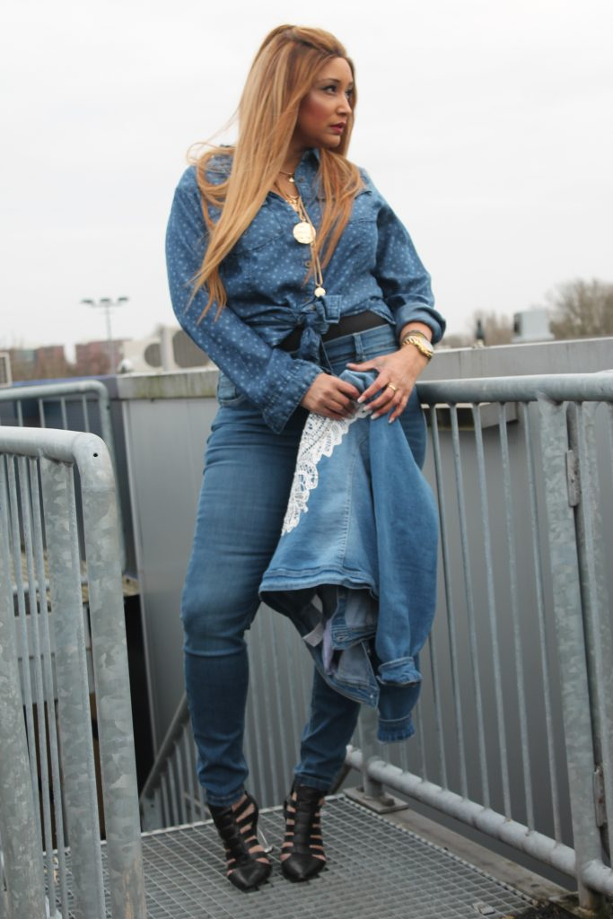 ms mode denim look