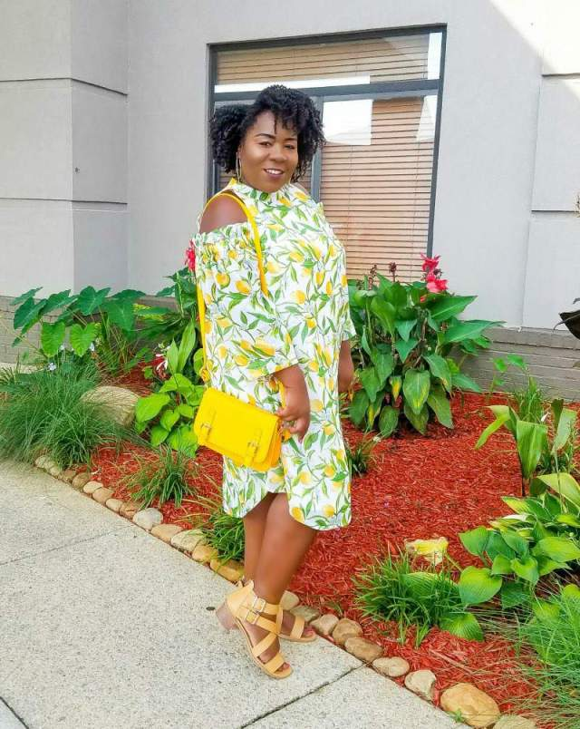 Plus Size Blogger, Shamika of Fro plus Fashion