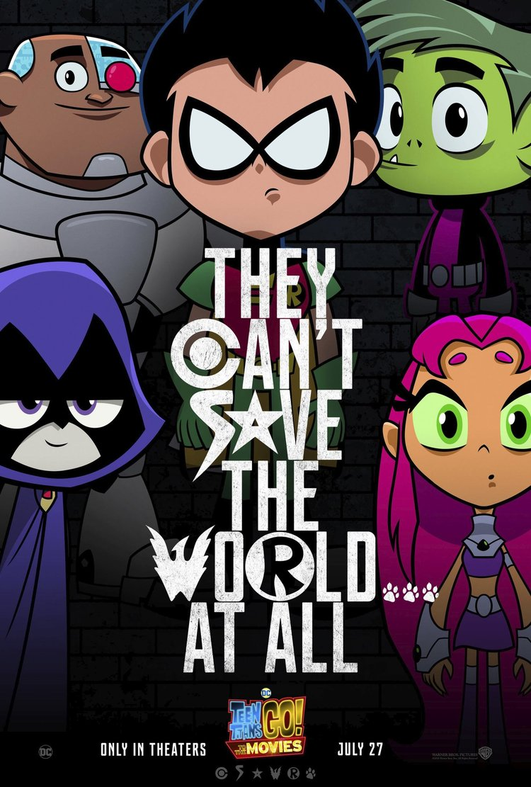 Teen Titans Go! To The Movies  is Hysterically Hype Fun on the Big Screen