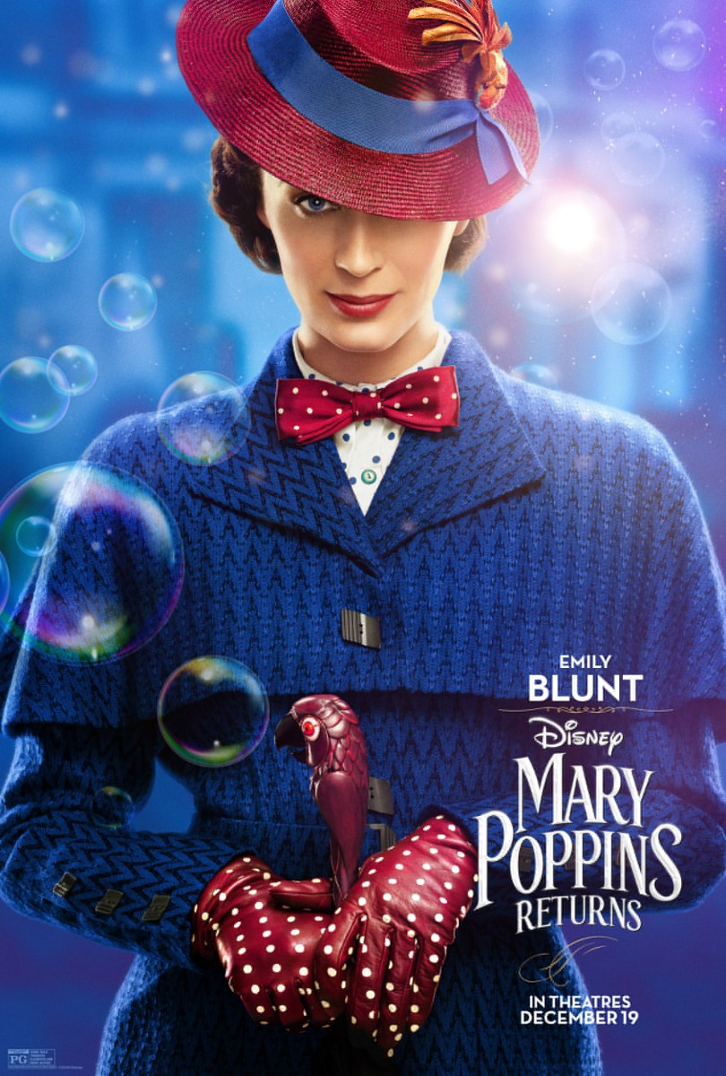 Emily Blunt is Practically Perfect in Disney's Mary Poppins Returns