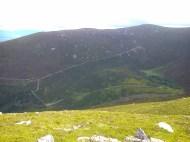 Glenmoylan valley and Knockshane
