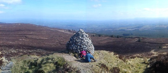 The Stoney Man - Ridge of Capard - Slieve Bloom Mountains