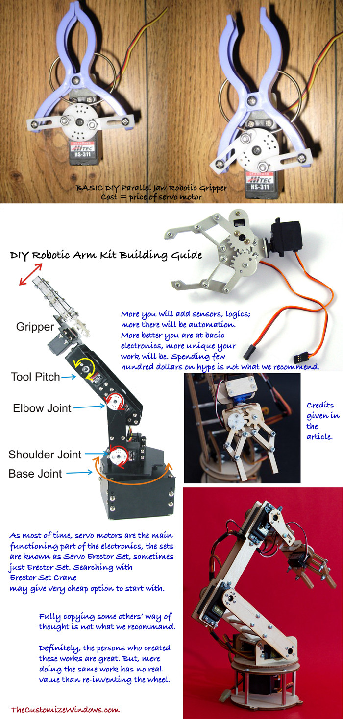 Diy Robot Arm