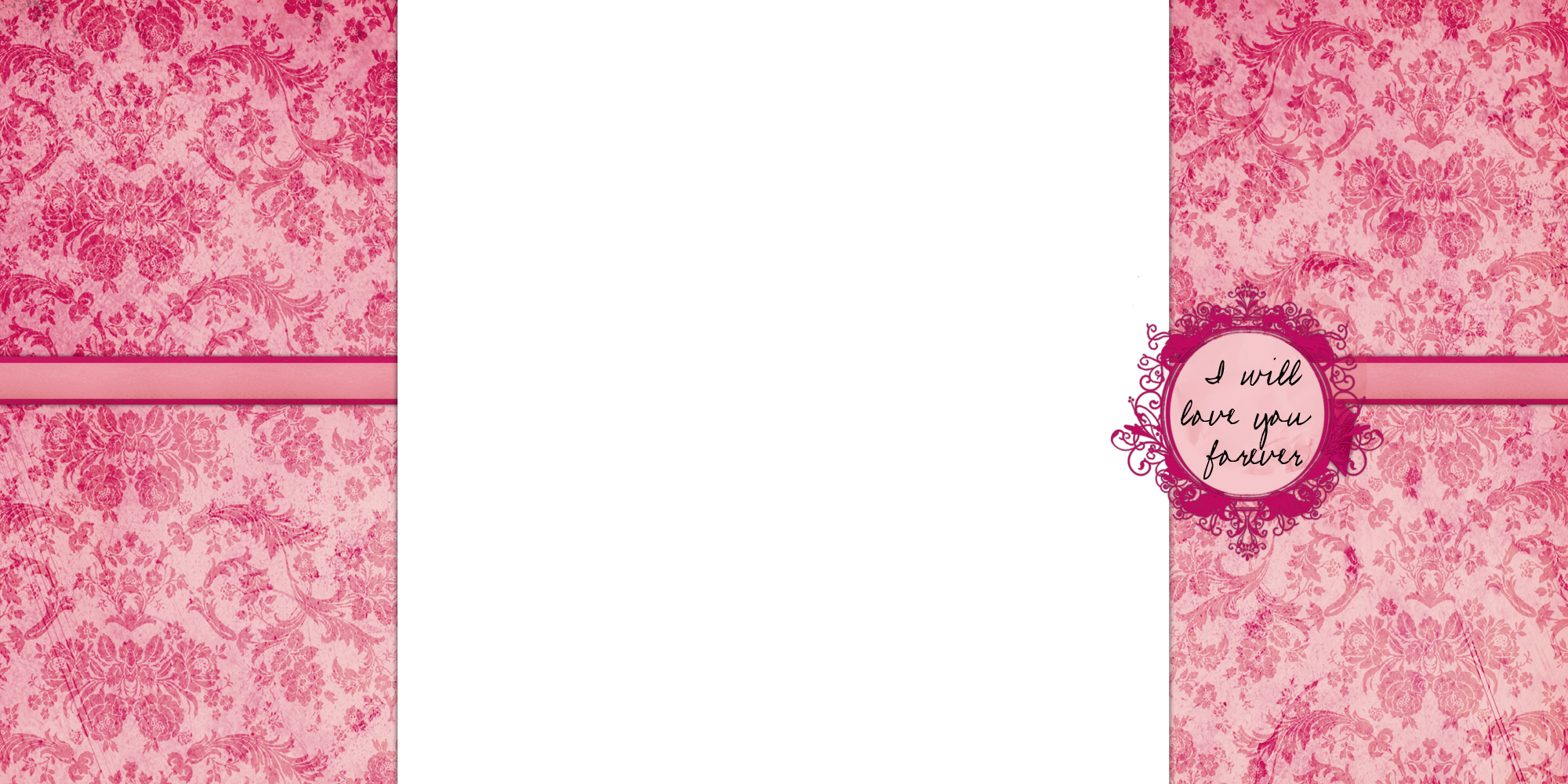 Sweet Baby Girl Wallpapers Download Pink Damask Three Column Blogger The Cutest Blog On