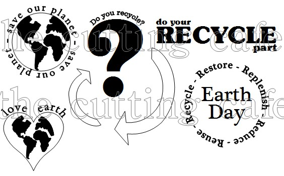 The Cutting Cafe': EARTH DAY PRINTABLE STAMP SET.....