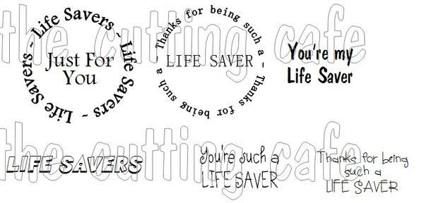 The Cutting Cafe': LIFE SAVERS BOX SET....TEMPLATE