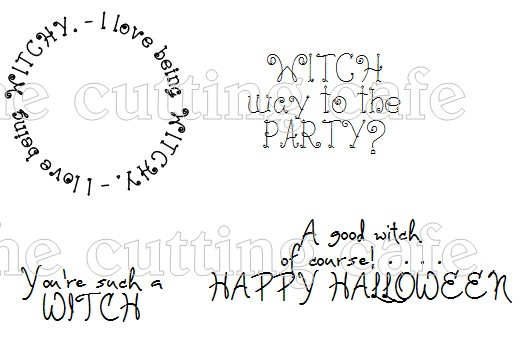 The Cutting Cafe': WITCH BOOT SHAPED CARD...TEMPLATE