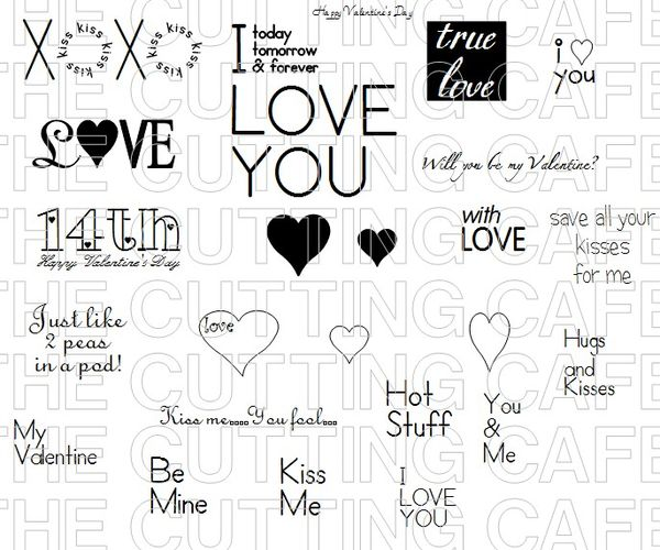 The Cutting Cafe': FUN WITH VALENTINE'S DAY...PRINTABLE