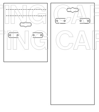 Earring tag template