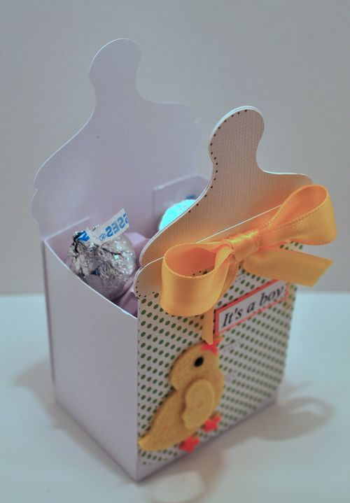 The Cutting Cafe BABY BOTTLE TREAT BOX 2 TEMPLATE  CUTTING FILE