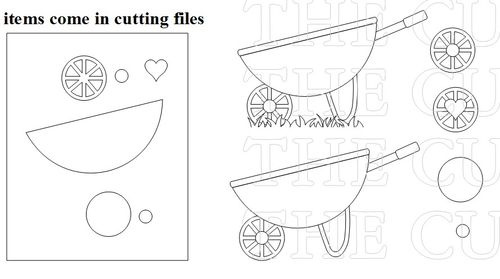 The Cutting Cafe': WHEELBARROW DELIVERIES PRINTABLE SET