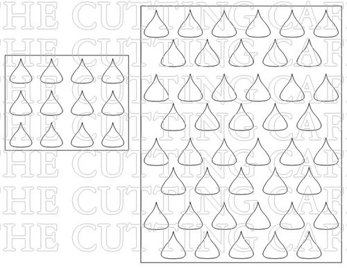 The Cutting Cafe': HERSHEY KISS PAPER LACE TEMPLATE AND