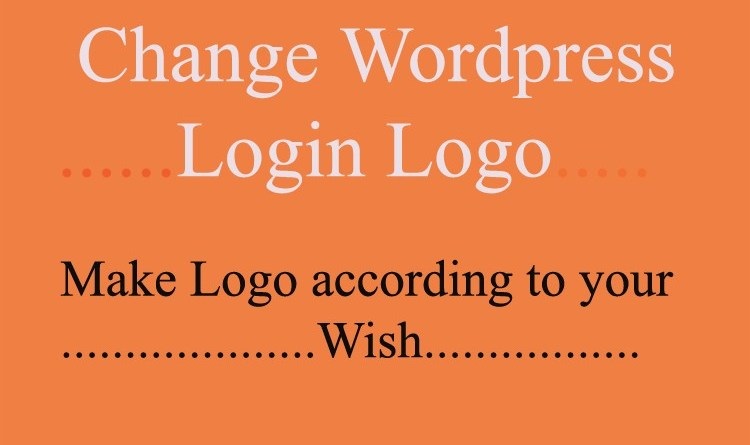 wordpress login logo
