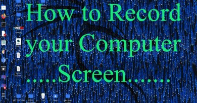record computer screen
