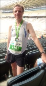 Personal Best at the 2013 MK Marathon