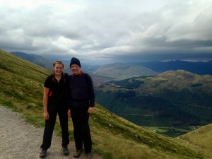 Hannah and I, Ben Nevis