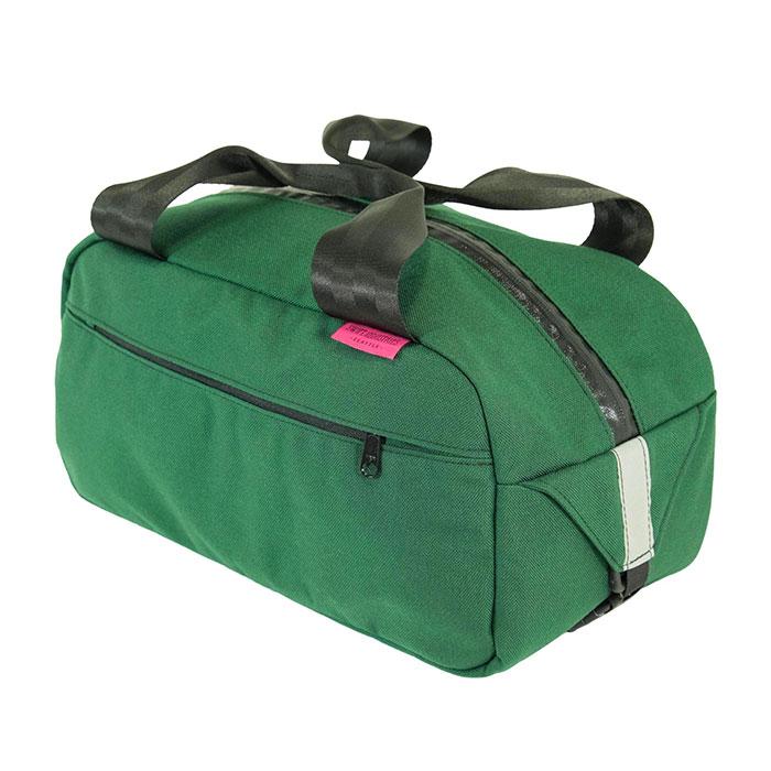 Black Small Restrap Wald Basket Bag