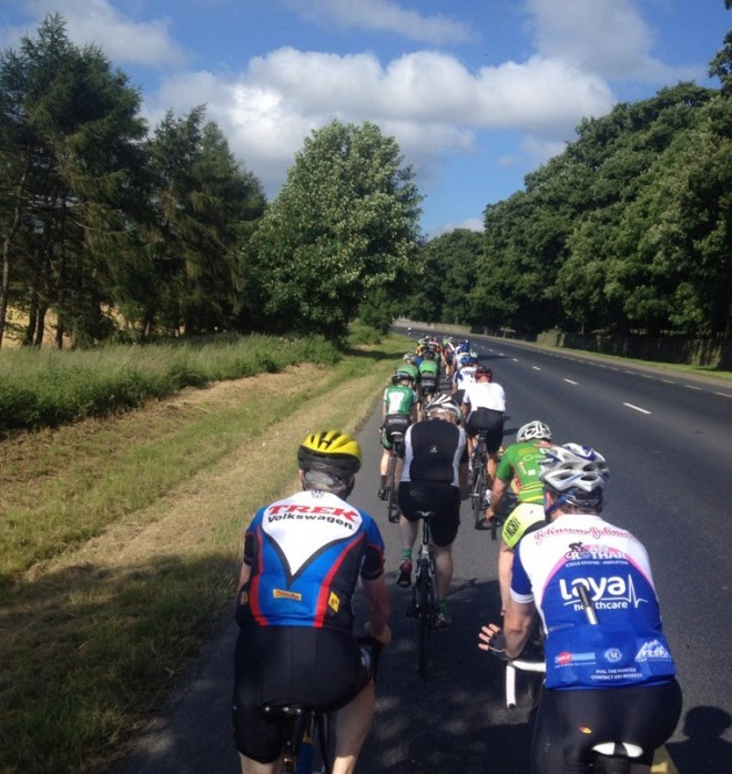 The 'Carrick Gang' heading towards Clonmel