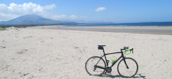 The white sands of Castlegregory