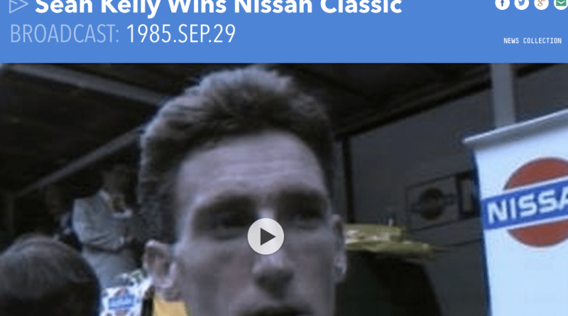Nissan Classic on the RTE News