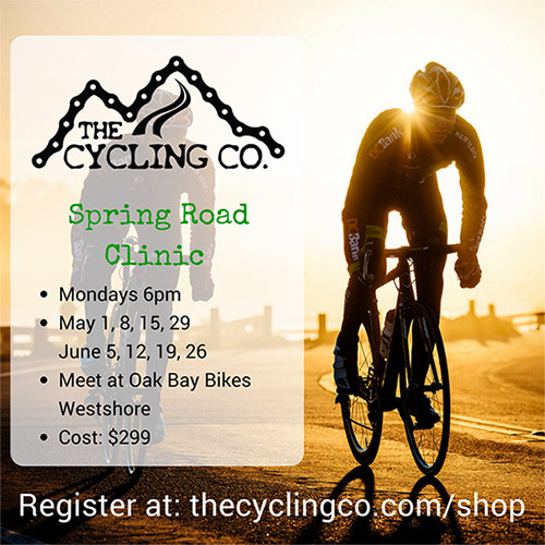Spring Road Cycling Clinic - 8 Sessions