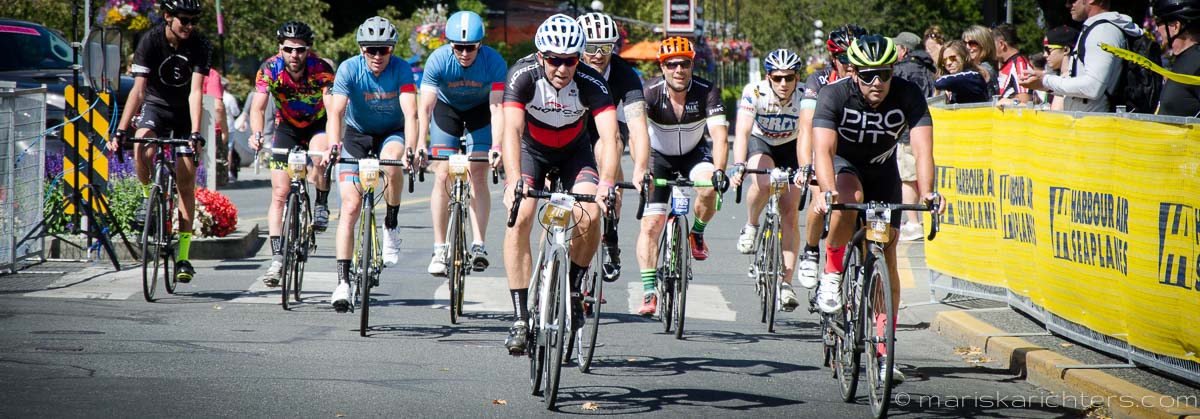Adam Walker Riding the Tour de Victoria 2016