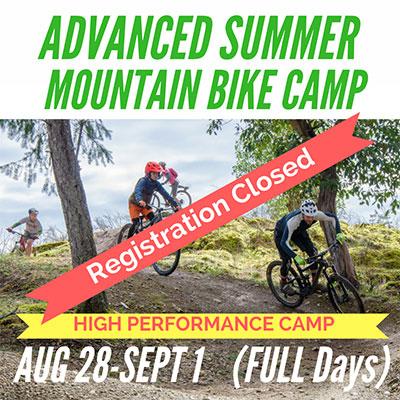 Advanced Mountain Bike Camp - Registration Closed