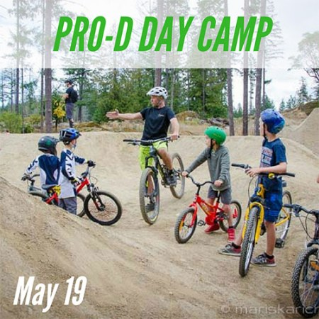 Pro-D Day Mountain Bike Camp - May 19