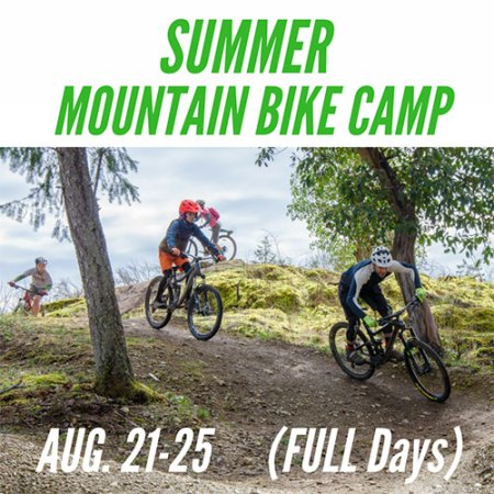 Full Day Summer Mountain Bike Camp - August 21-25