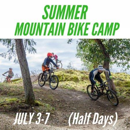 Summer Mountain Bike Camp - July 3-7