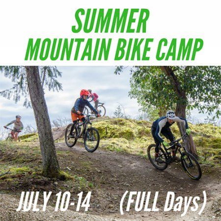 Full Day Mountain Bike Camp - July 10-14