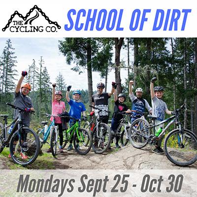 School of Dirt - After School Mountain Bike Program