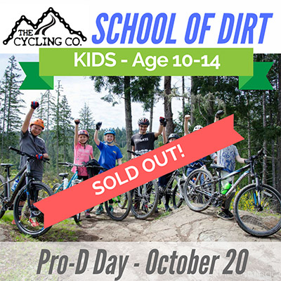 Pro-D Day Mountain Bike Camp Oct20 - Sold Out