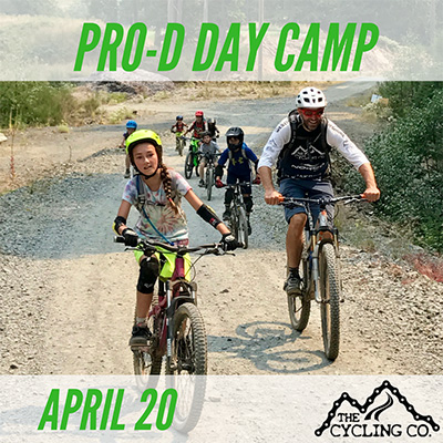 Pro-D Day Mountain Bike Camp - April 20th