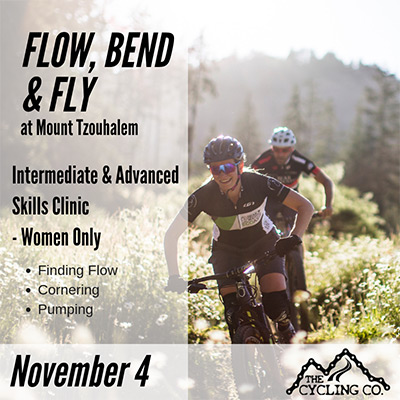 Flow Bend & Fly MTB Clinic - November4