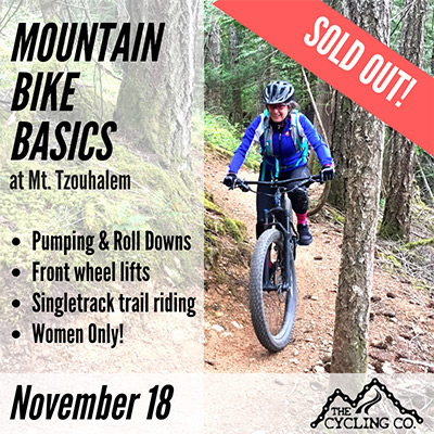 November 18 MTB Clinic - Sold Out!