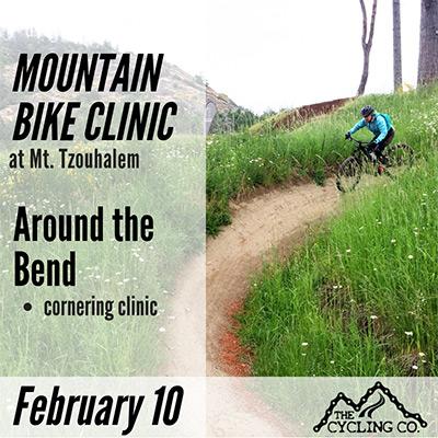 Mountain Bike Cornering Clinic at Mt. Tzouhalem - Feb. 10