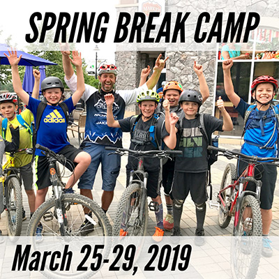 Spring Break Mountain Bike Camp - March 25-29